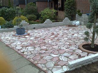 Polygono Granit- Mauer
